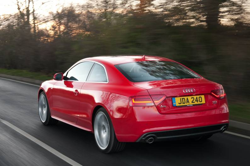 audi a5 coupe 3 0 tdi quattro s tronic car review rac drive. Black Bedroom Furniture Sets. Home Design Ideas