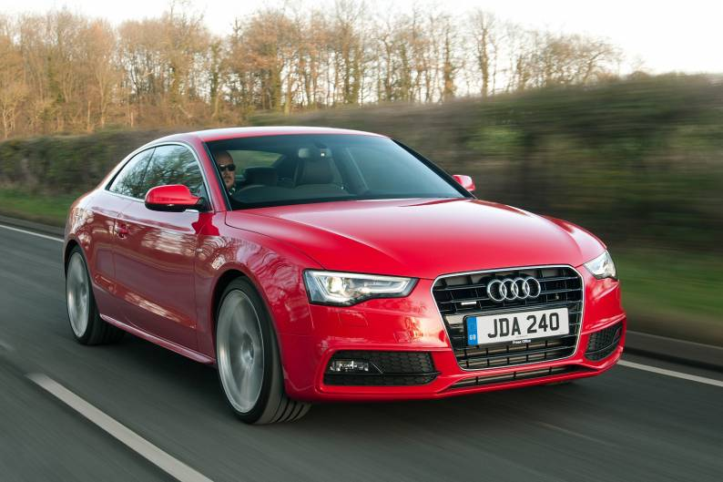 audi a5 coupe 3 0 tdi quattro s tronic car review rac. Black Bedroom Furniture Sets. Home Design Ideas