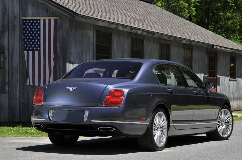 Bentley Continental Flying Spur Speed review