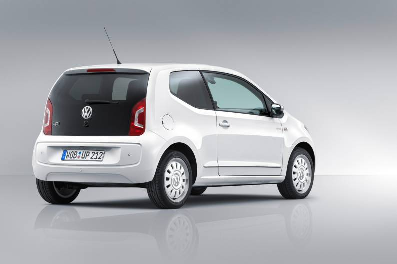 Volkswagen up! Black & White review