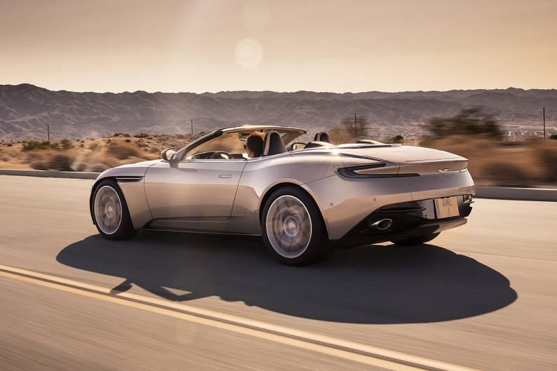 aston martin db11 volante review car review rac drive. Black Bedroom Furniture Sets. Home Design Ideas