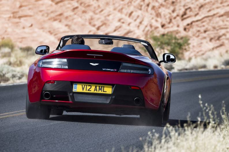 Aston Martin Vantage S V12 Roadster review