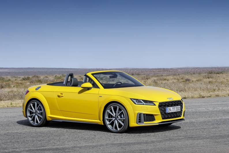 Audi TT Roadster review | Car review | RAC Drive