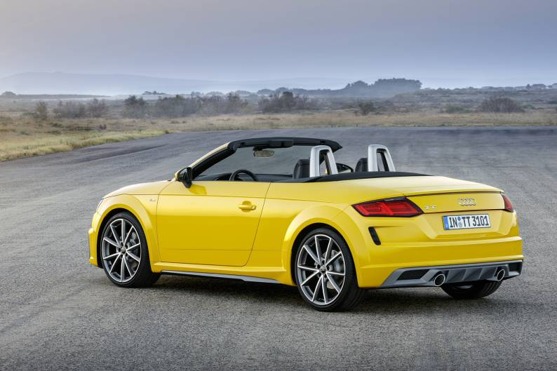 Audi TT Roadster Review Car Review RAC Drive - Audi tt convertible