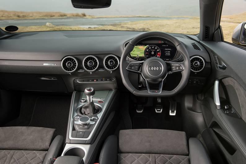 Audi TTS quattro Coupe review