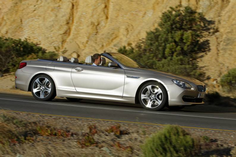BMW 640i Convertible review