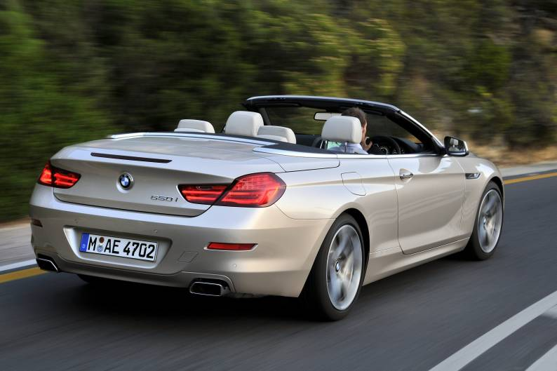 BMW 640i Convertible review  Car review  RAC Drive