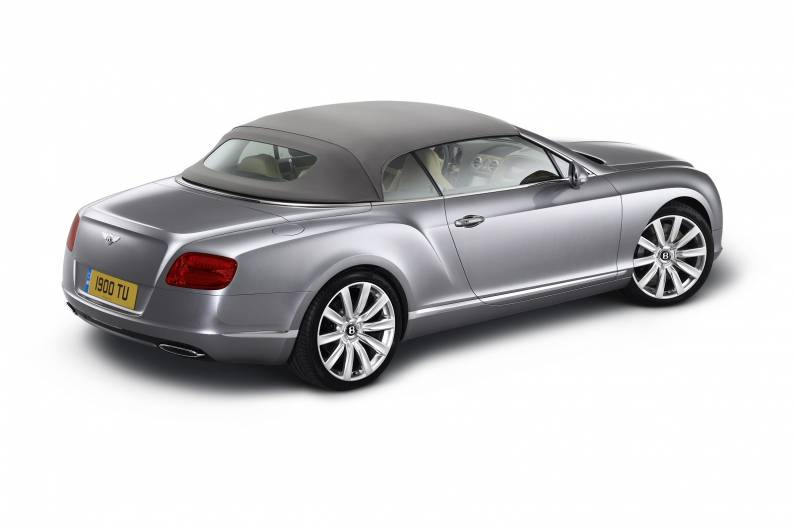 Bentley Continental GTC review