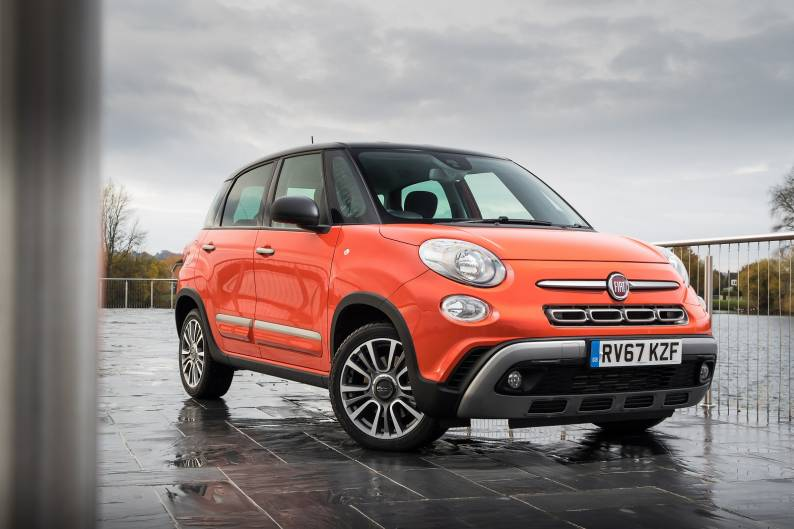 fiat 500l cross review car review rac drive. Black Bedroom Furniture Sets. Home Design Ideas