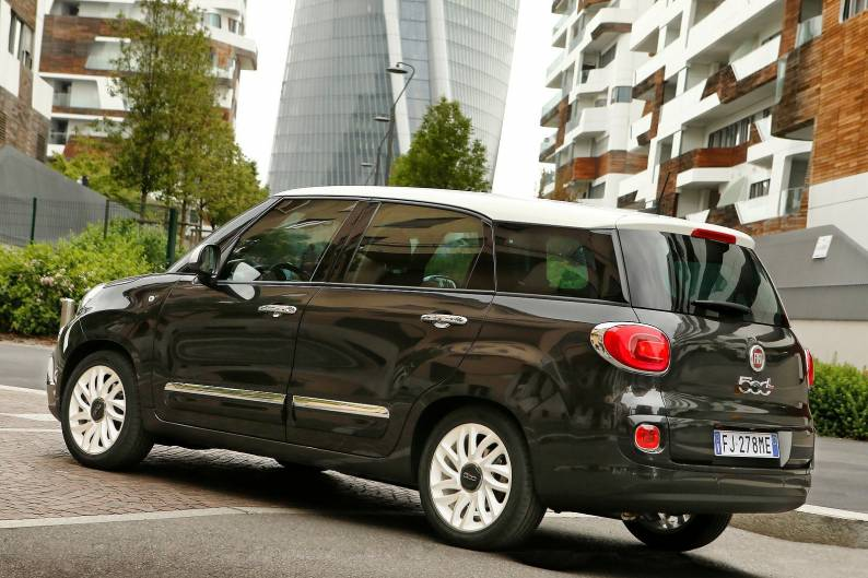 fiat 500l wagon review car review rac drive. Black Bedroom Furniture Sets. Home Design Ideas