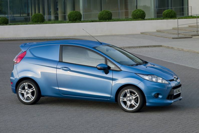 Ford Fiesta van review