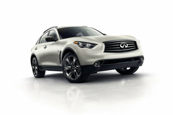 Infiniti QX70 review