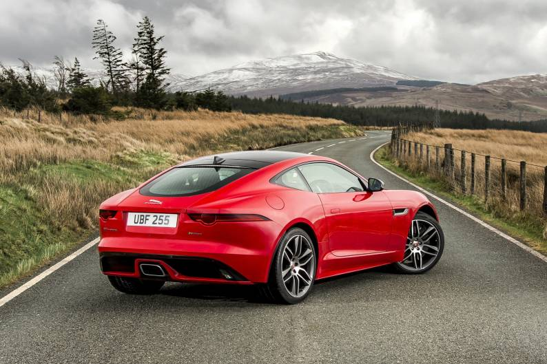 Jaguar F Type Coupe >> Jaguar F Type Coupe Review Car Review Rac Drive