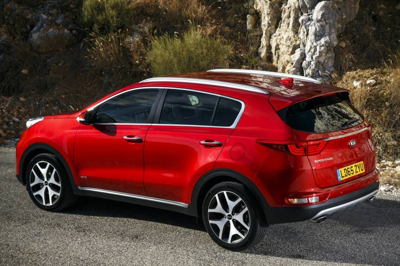 Kia Sportage 1.6 GDi review