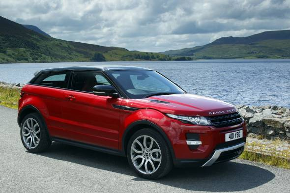 Land Rover Range Rover Evoque Coupe review