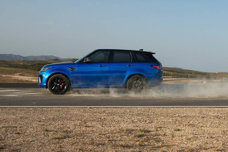 Land Rover Range Rover Sport SVR review   Car review   RAC Drive