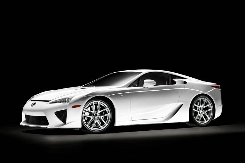 Lexus LF-A review