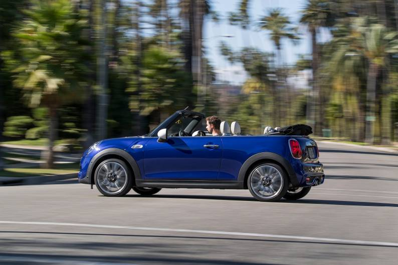 Mini Convertible Review Car Review Rac Drive