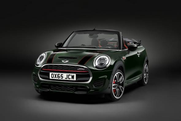 MINI John Cooper Works Convertible review
