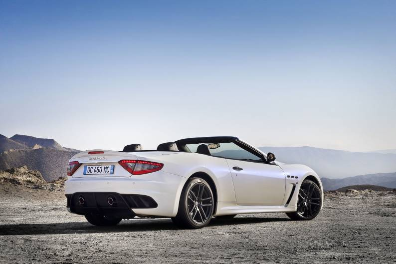 Maserati GranCabrio MC review