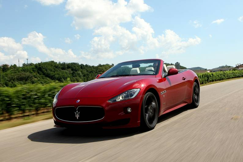 Maserati GranCabrio Sport review