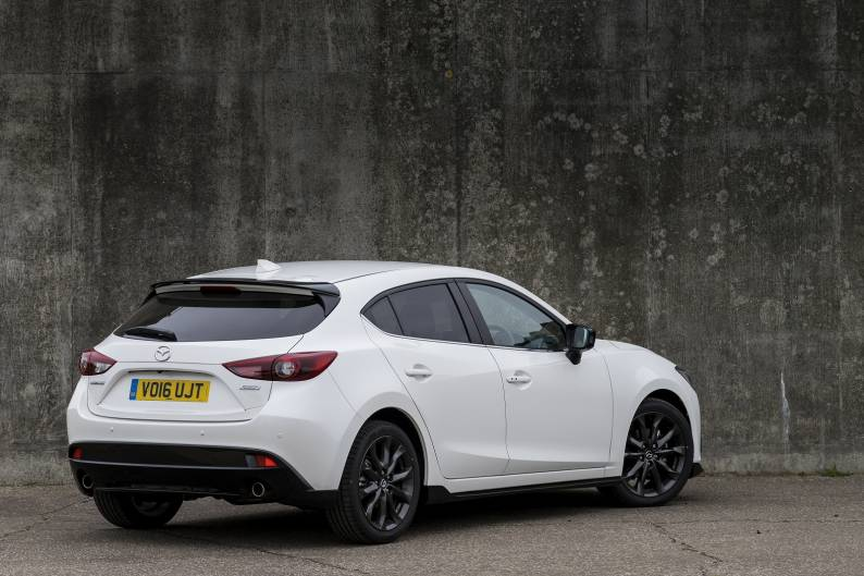 mazda3 sport black review car review rac drive. Black Bedroom Furniture Sets. Home Design Ideas