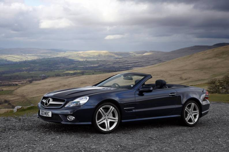 Mercedes benz sl 2002 2008 used car review car for Used mercedes benz sl