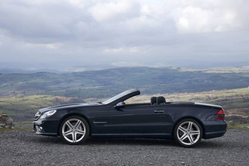 Mercedes-Benz SL-Class (2002 - 2008) used car review