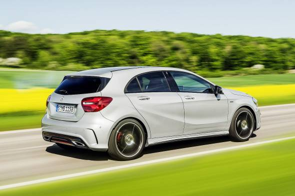 Mercedes-Benz A180d review