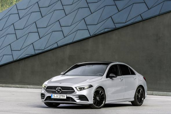 Mercedes-Benz A-Class Saloon review