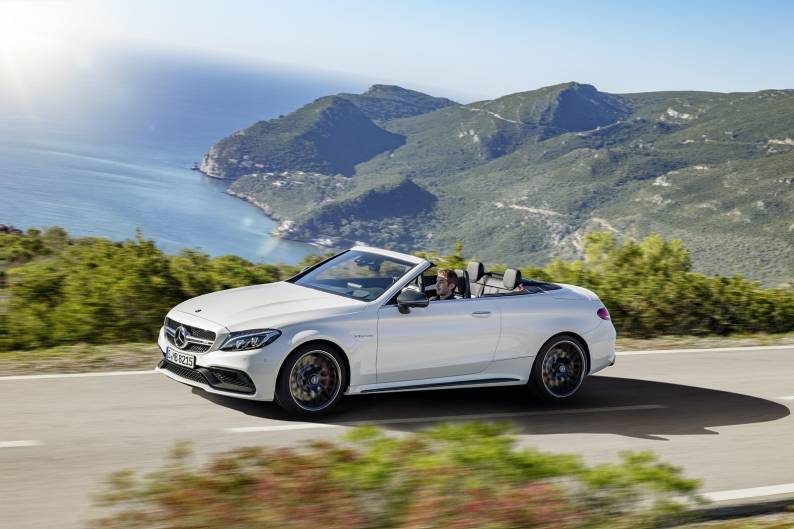Mercedes-AMG C 63 Cabriolet review