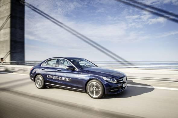 Mercedes-Benz C350e review