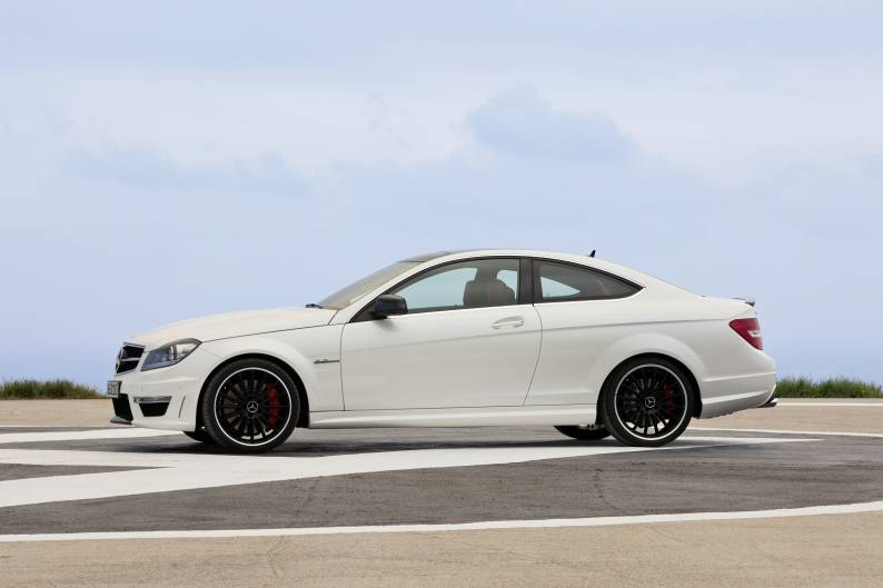 Mercedes benz c class c63 amg 2007 2014 used car review car review rac drive - Mercedes c class coupe 2014 review ...