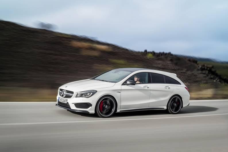 Mercedes-Benz CLA 45 4MATIC Shooting Brake review