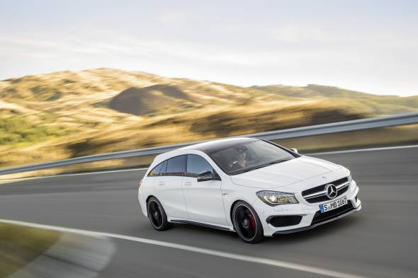 Mercedes-Benz CLA 45 4MATIC Shooting Brake review