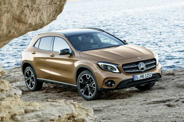 Mercedes-Benz GLA 220d 4MATIC review