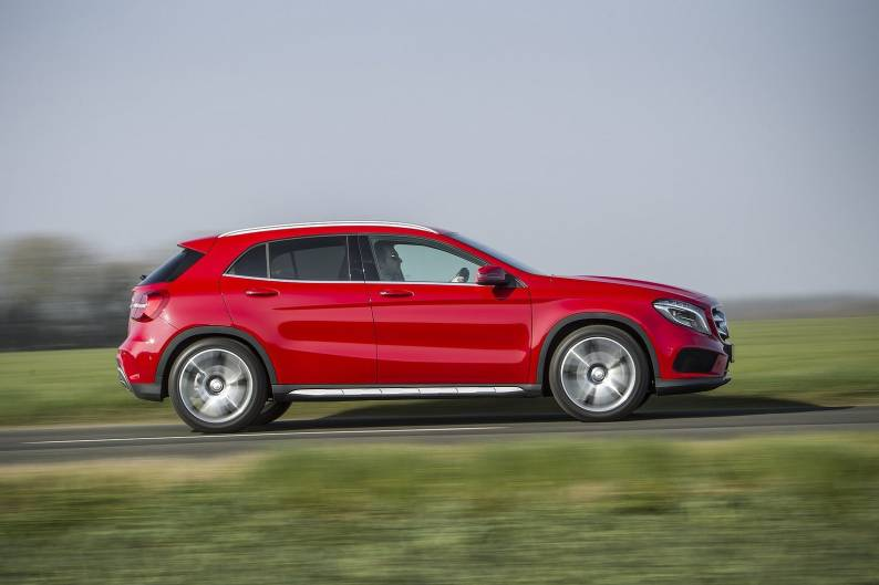 Mercedes benz gla 250 4matic review car review rac drive for Mercedes benz residual value