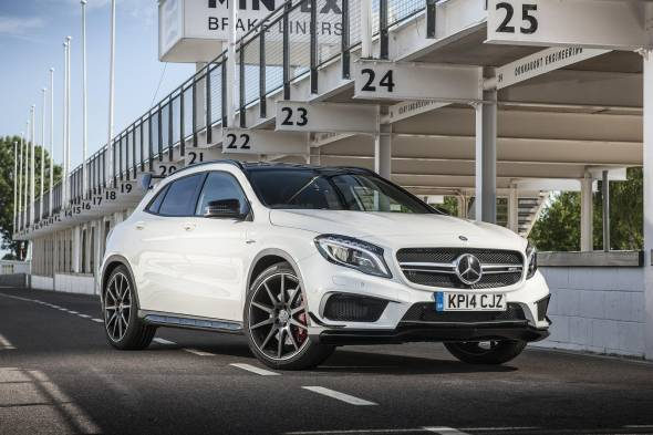 Mercedes-AMG GLA 45 4MATIC review