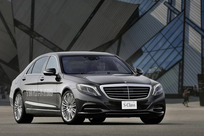 Mercedes-Benz S500 Plug-In Hybrid review