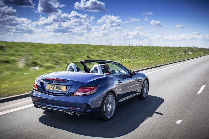 Mercedes-Benz SLC 300 review