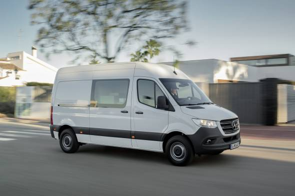 Mercedes Sprinter review