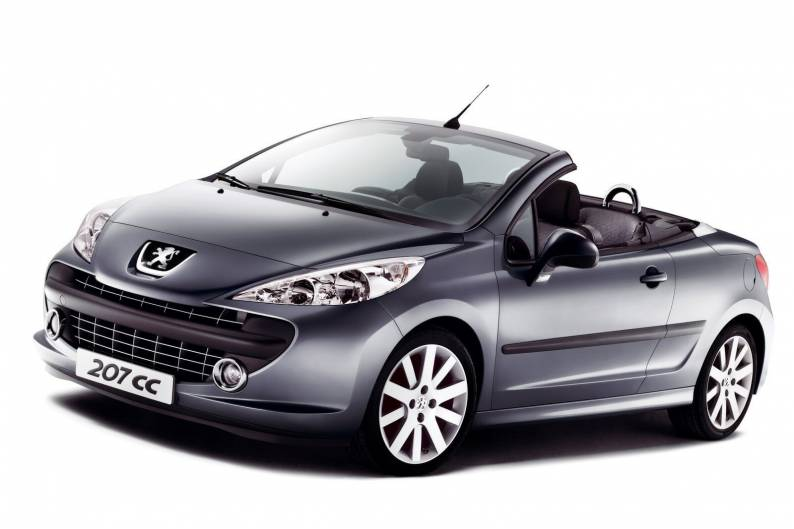 peugeot 207 cc 2007 2010 used car review car review. Black Bedroom Furniture Sets. Home Design Ideas
