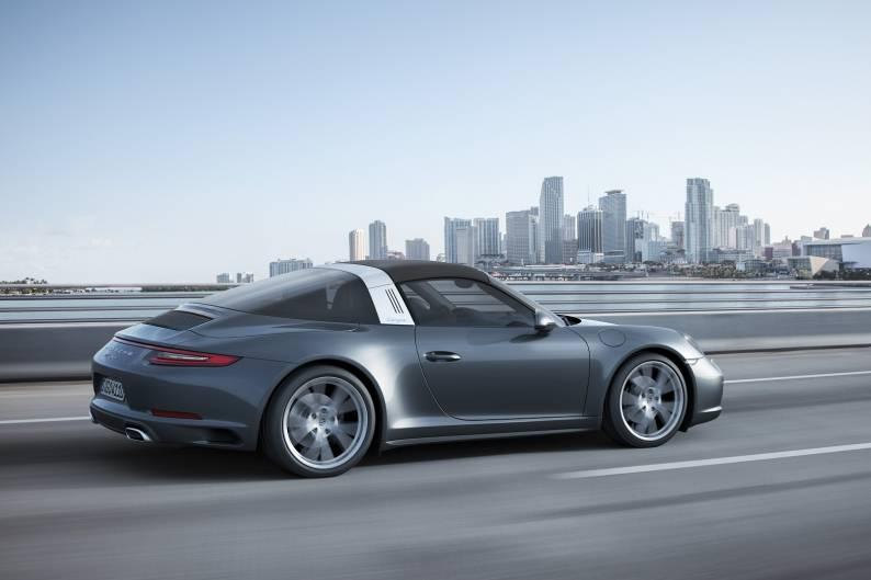 Porsche 911 Targa 4 review