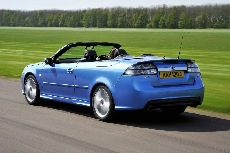 Saab 9 3 Convertible 2003 2012 Used Car Review Car