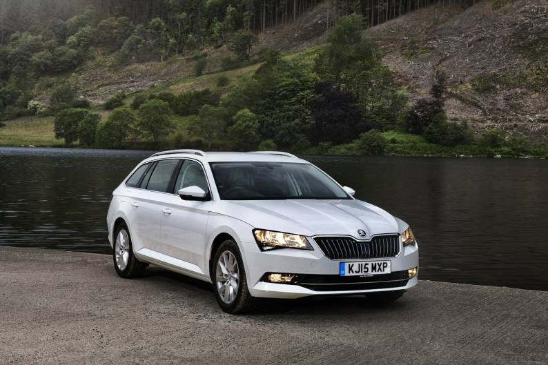 skoda superb estate review car review rac drive. Black Bedroom Furniture Sets. Home Design Ideas