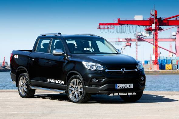 SsangYong Musso pick-up review
