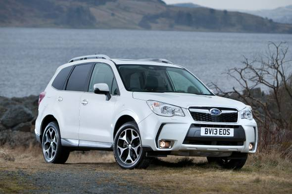 Subaru Forester 2.0i XT review