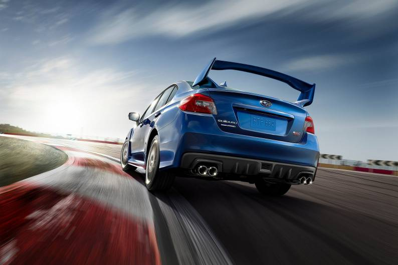 Subaru WRX STi Type UK review