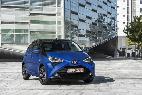 Toyota Aygo x-cite review