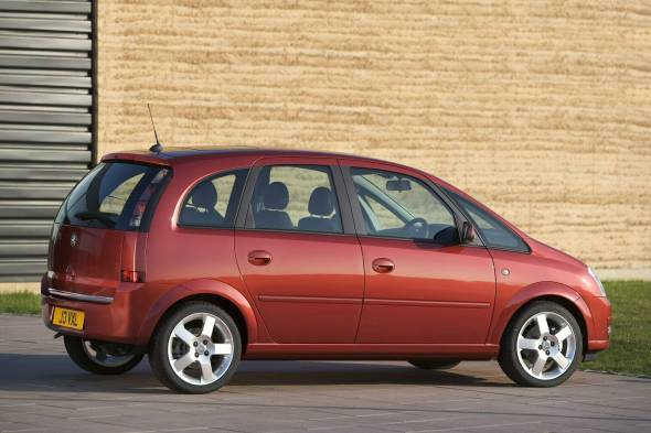 Vauxhall Meriva (2003 - 2010) used car review